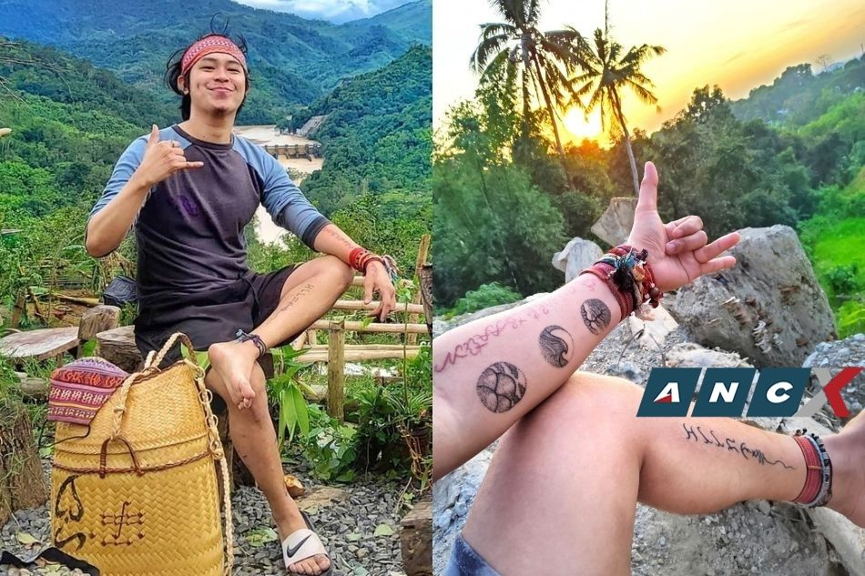 This tattoo artist in Bulacan is gaining fans for his hand poke method and baybayin designs