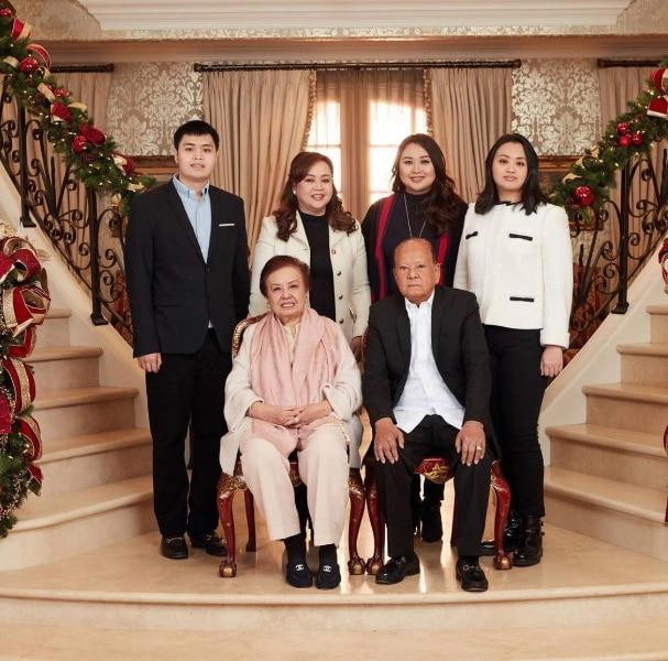 Alice Eduardo and family