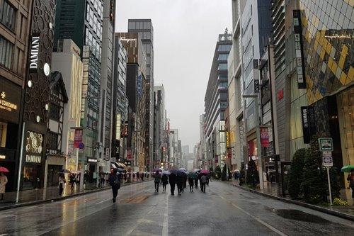 A nostalgic shopping trip in Ginza