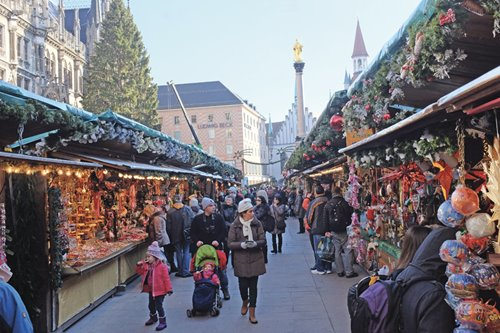 Christkndlmarkt no.5: Munich at Christmas is folsky, sophisticated, magical