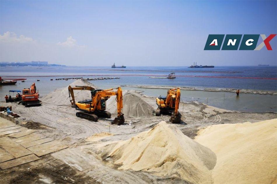 Manila Bay's white sand makeover is a 'beach nourishment project,' says DENR 2