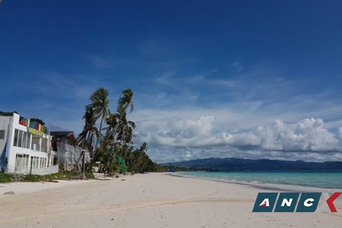 Scenes from the Boracay reopening: 35 tourists and a relatively empty White Beach