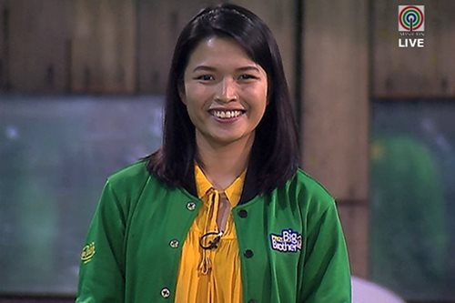 Aura Azarcon makes it to Pinoy Big Brother grand finals