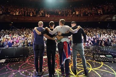 Coldplay to stage Manila concert on April 4