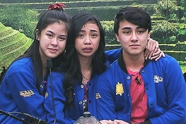 WATCH: Emotional top 3 teens exit 'Pinoy Big Brother' house