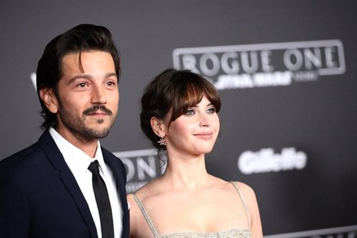 'Rogue One' premiere brings the Force back to Hollywood