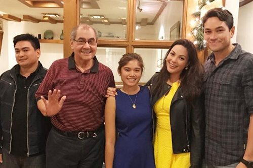 LOOK: KC spends Christmas with Aly's family