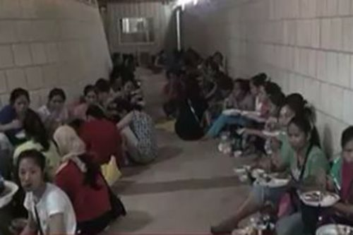 500 OFWs to spend New Year at Kuwait shelters