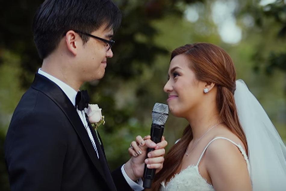 Nikki Gils Wedding.Watch Full Wedding Video Of Nikki Gil Bj Albert Abs Cbn News