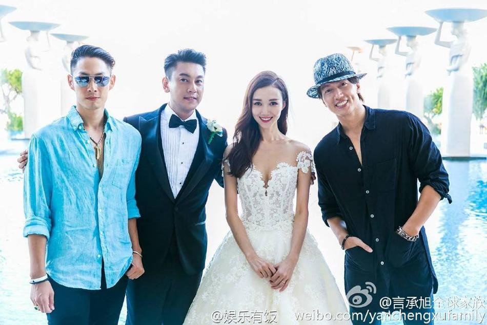 F4 sans Vic Chou reunites for Ken's wedding   ABS-CBN News