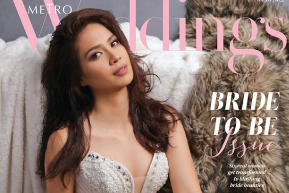 Look Kaye Abad Poses For Wedding Magazine Abs Cbn News