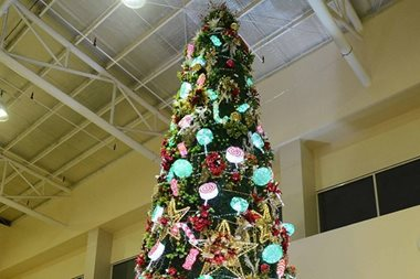 40 days to X'mas: Robinsons lights up giant Christmas trees