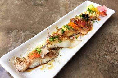 Inagiku's aburi sushi out to torch competition