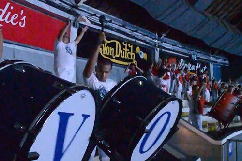 WATCH: UE, Adamson drummers play UP Pep's cheer