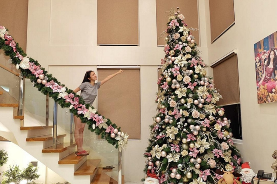 26 days to xmas celebrities and their christmas trees