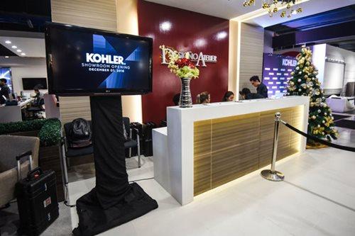 Kohler launches new boutique showroom at Desigño Atelier
