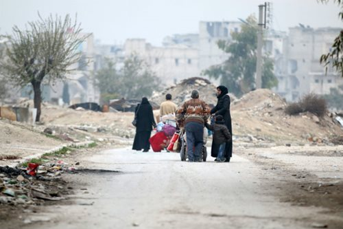 80,000 have fled east Aleppo since army operation began: monitor