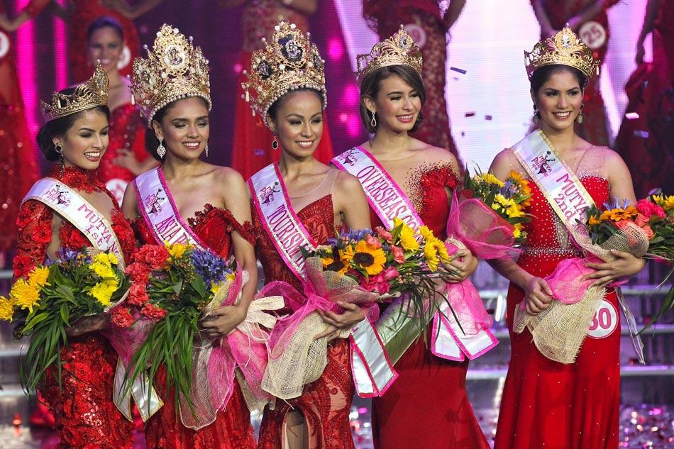 Mutya ng Pilipinas winners;