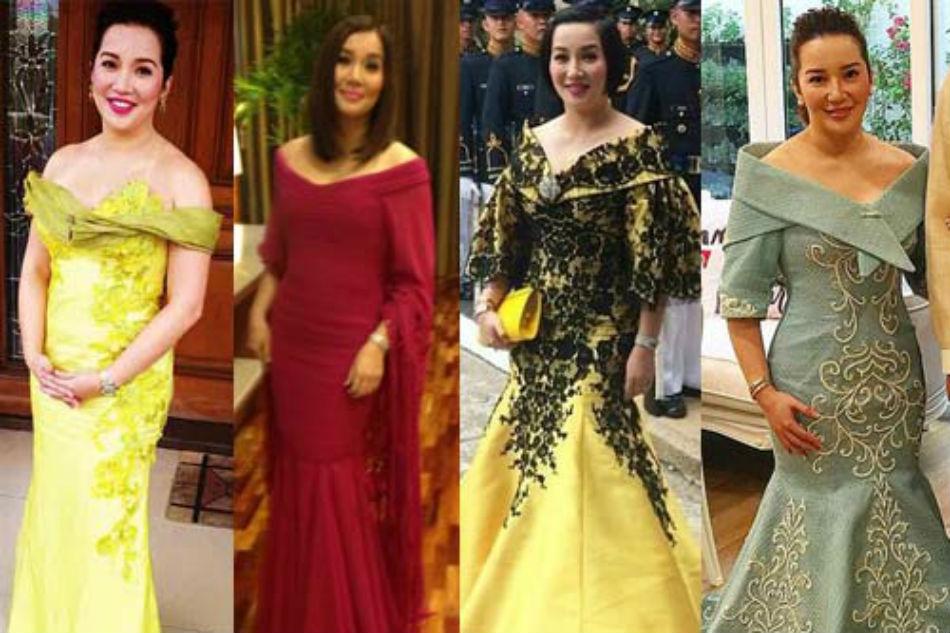 THROWBACK: Kris Aquino\'s SONA outfits | ABS-CBN News
