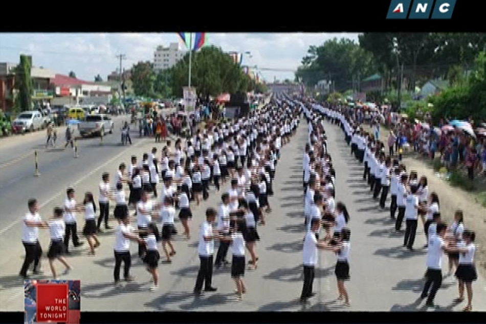 Kidapawan City hopes to set world record for cha-cha dancing