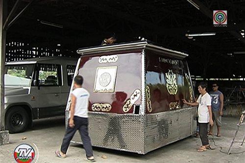 SILIPIN: Andas na gagamitin sa Pista ng Nazareno