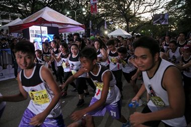 Participants of the Great Lean Run pay tribute to slain student, real hero