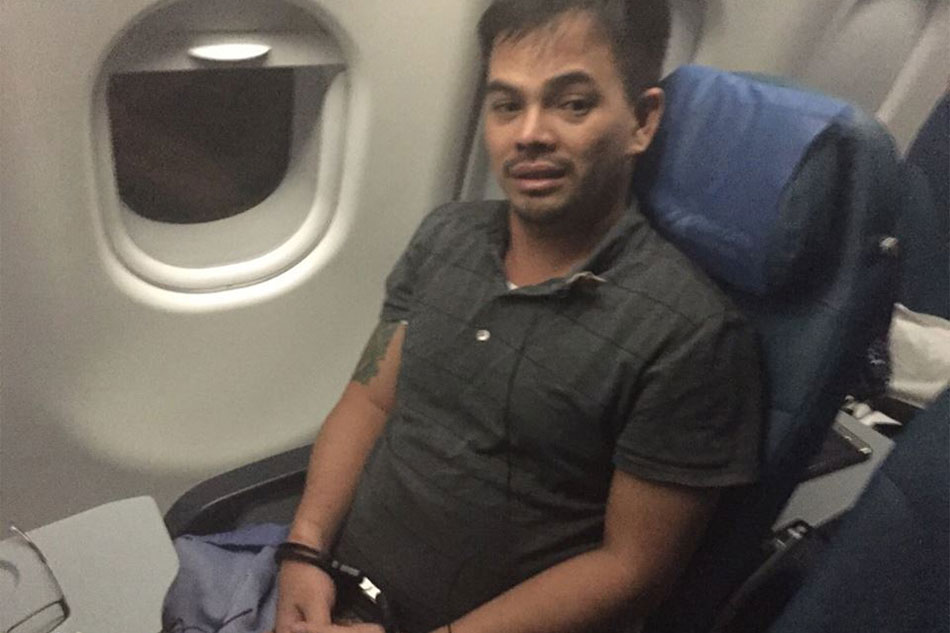 Alleged drug lord arrested in Abu Dhabi back in Manila