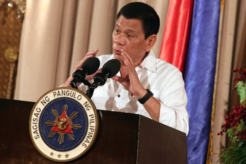 Duterte ready to 'reverse' 60:40 foreign capital limit