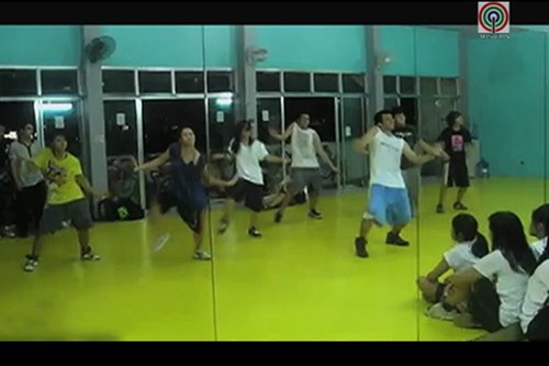 PANOORIN: Hip-hop dancing, patok na exercise routine