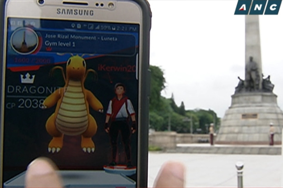 'Pokemon GO players' flock to Luneta on National Heroes' Day