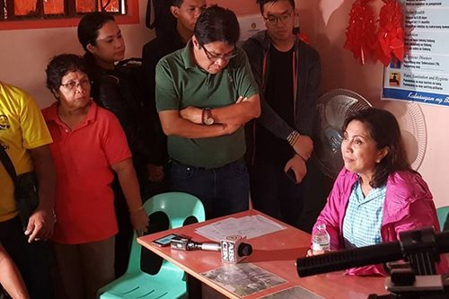 Robredo on US trip during 'Nina': Unfortunate, bad timing