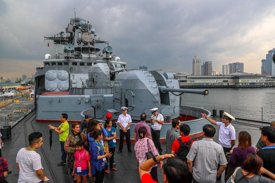 IN PHOTOS: Russian Navy brings warship to Manila 8