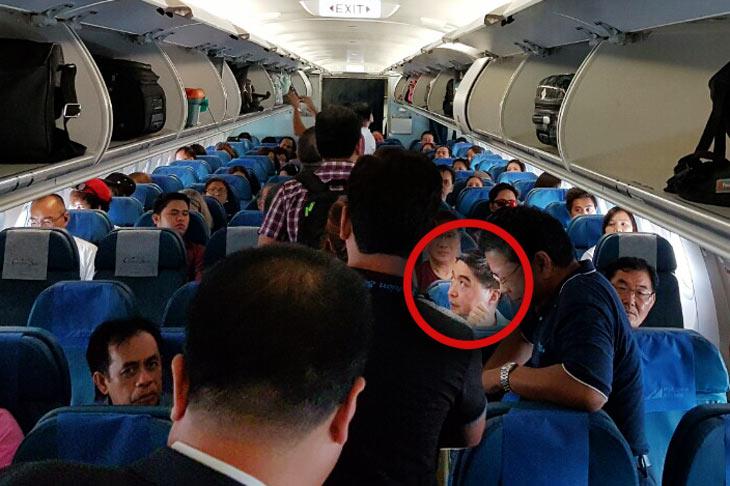 look  cebu pacific president flies pal economy