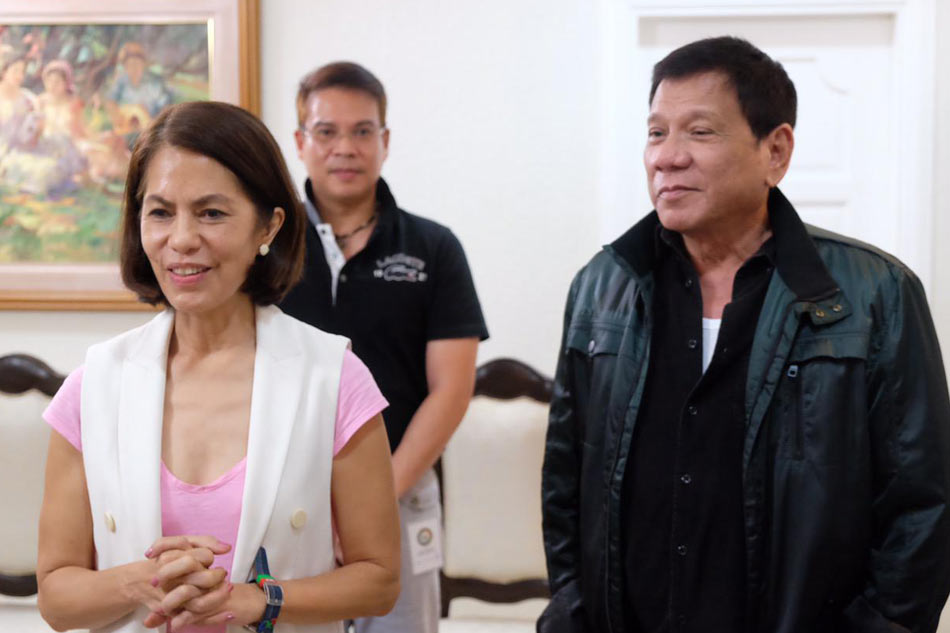 Image result for GINA LOPEZ DUTERTE