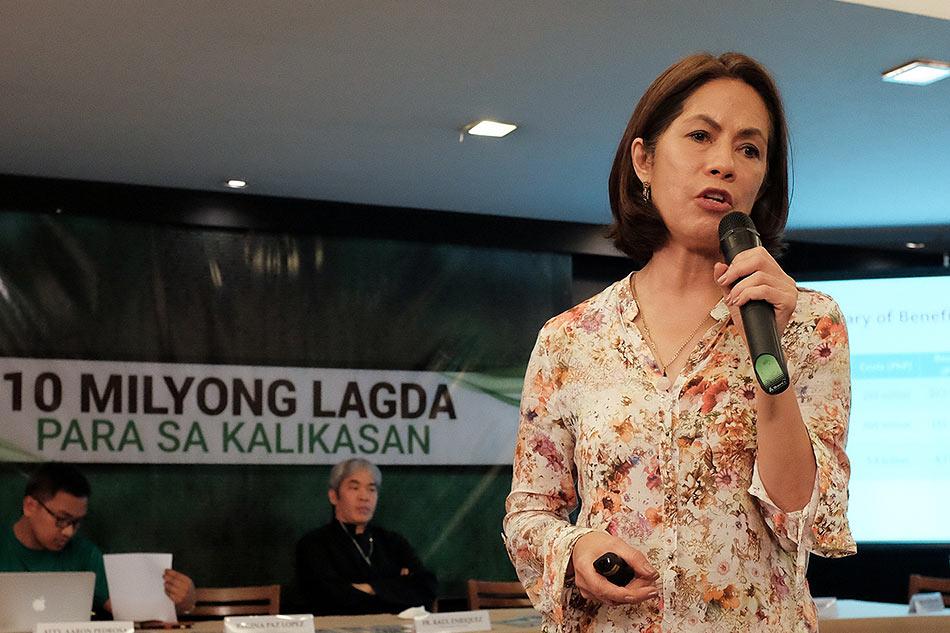 Gina Lopez accepts Duterte's DENR offer 1