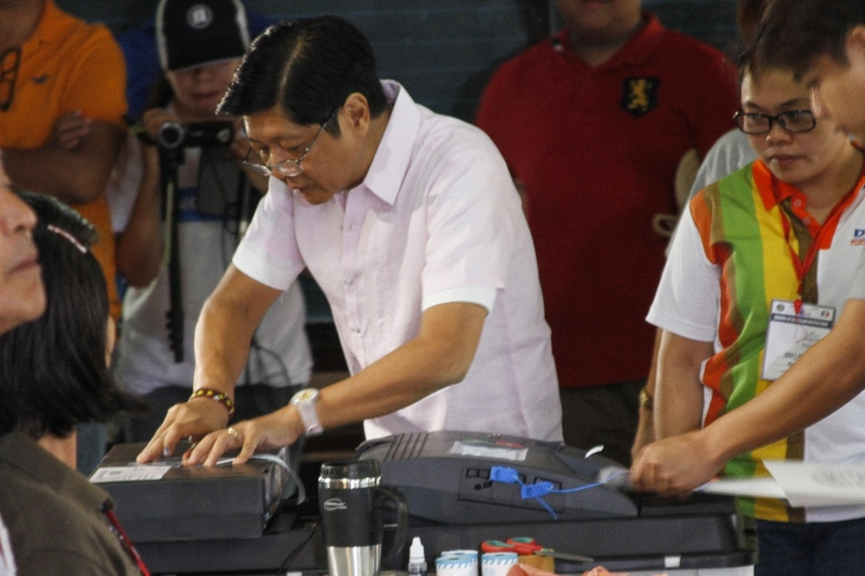 Marcos cast vote in Ilocos