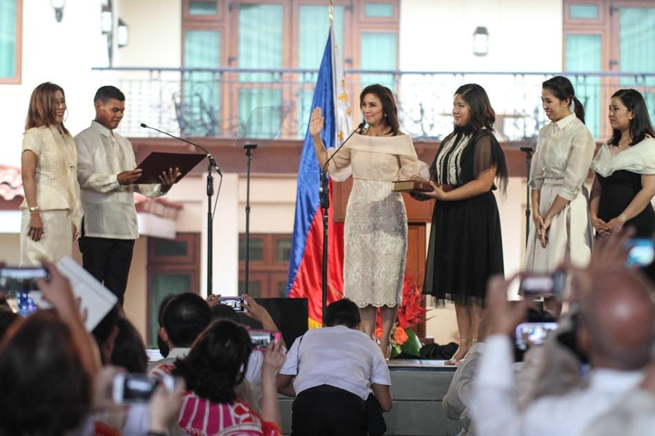 VP Leni Robredo takes oath