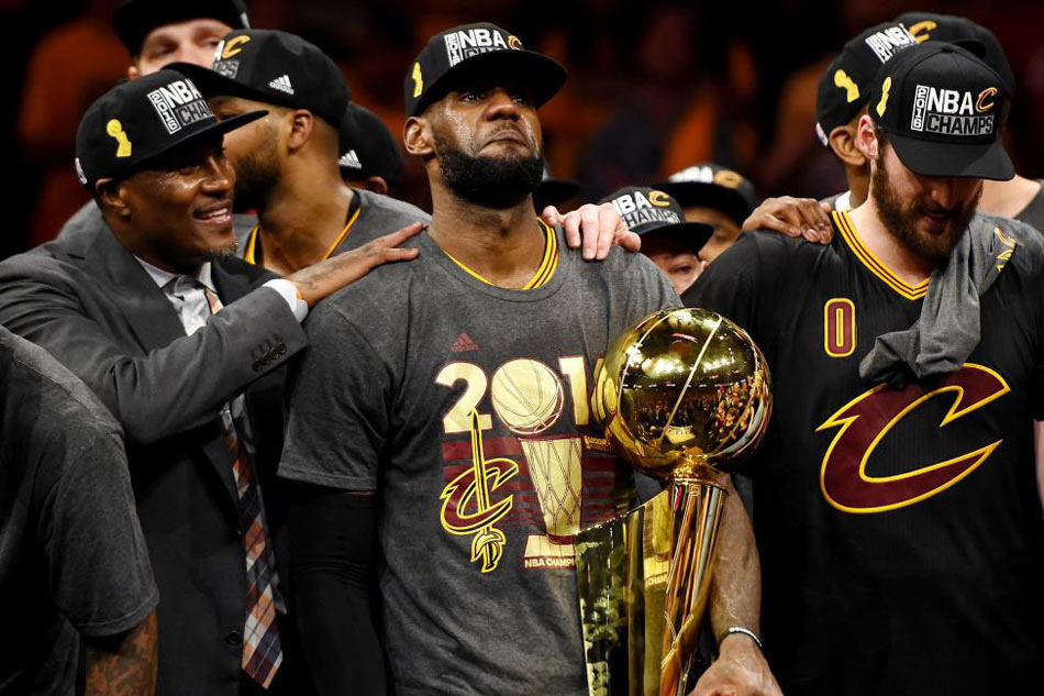 info for 44be6 7afb0 NBA champs Cavs now most popular team merchandise | ABS-CBN News