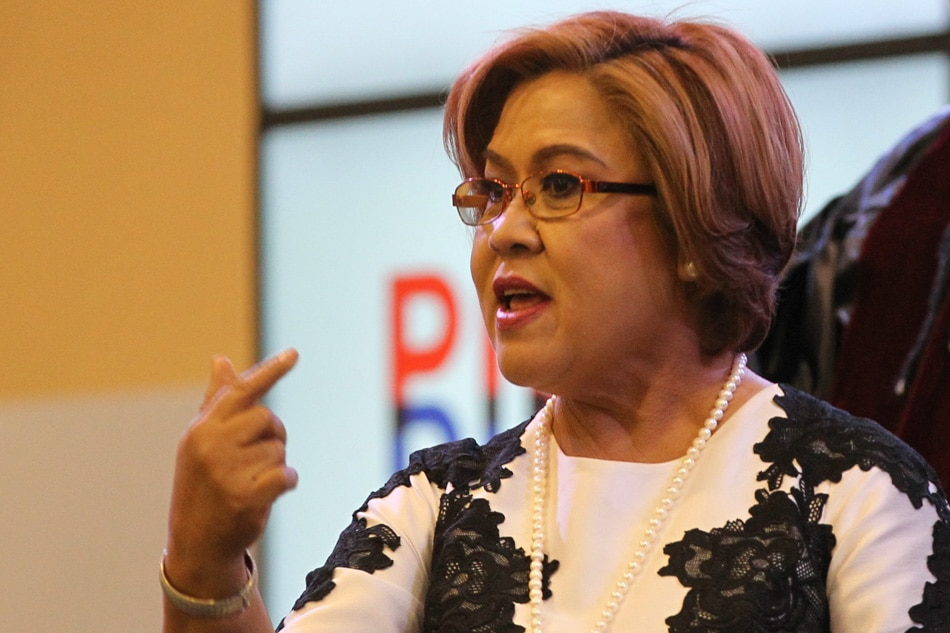 De Lima blames prison congestion in Bilibid drug trade