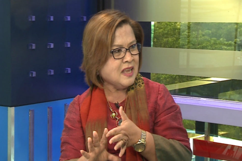 What De Lima thinks of Duterte's handshake