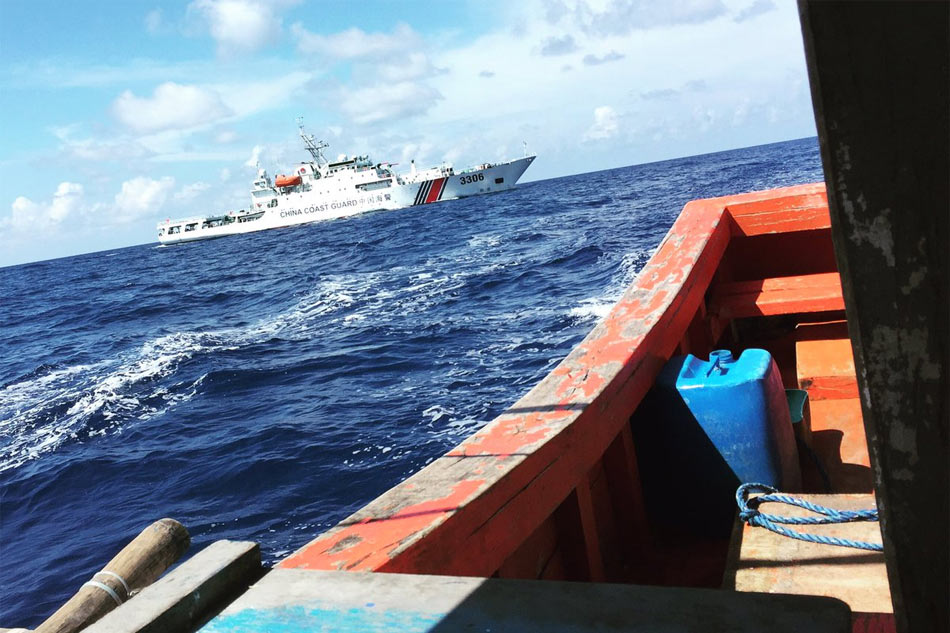 PH, US verifying if Chinese left disputed shoal