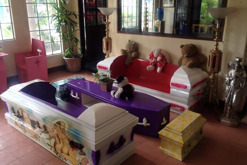 Look Coffin Inspired Furniture In Cebu Abs Cbn News