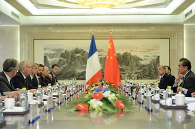 France, China to set up joint investment fund for overseas projects