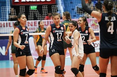 Superliga: Petron bounces back, crushes F2 Logistics