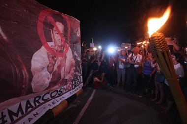 More protests set against Marcos' LNMB burial