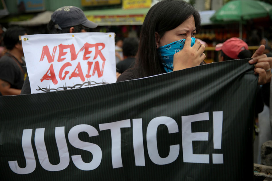 Marcos burial triggers protest;