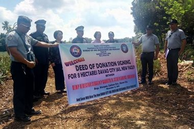LOOK: Private citizen donates land for new Davao City Jail