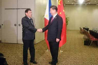 WATCH: Duterte holds bilateral meeting with Xi Jinping in Peru