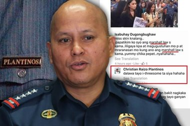 'Bakit naging pulis yun?' Bato probes cop who threatened anti-Marcos protester