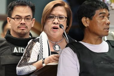De Lima got P8-M drug cash through Dayan, says Kerwin